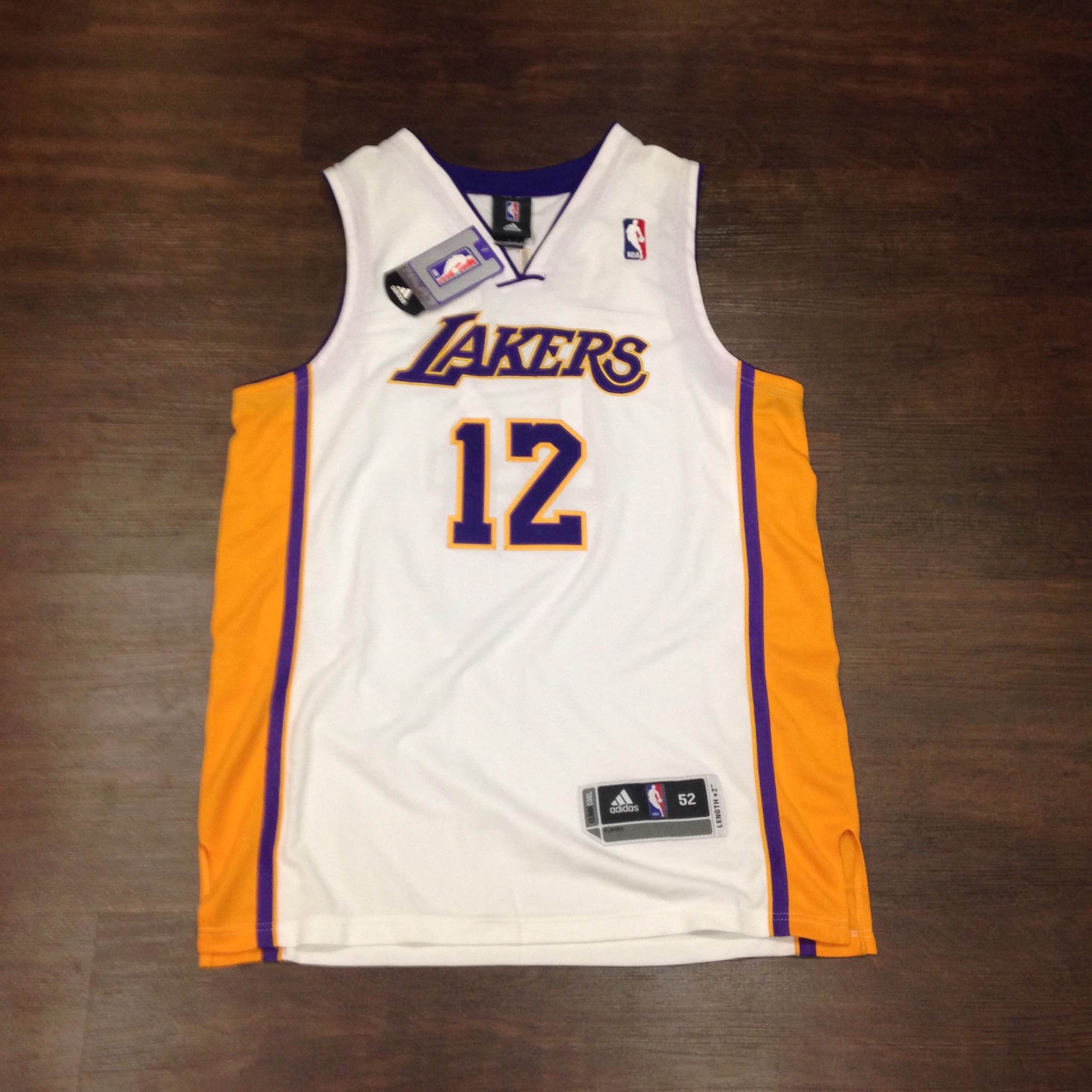 e1d92448cd5 BNWT Authentic Dwight Howard Lakers Jersey Size 52 on Storenvy