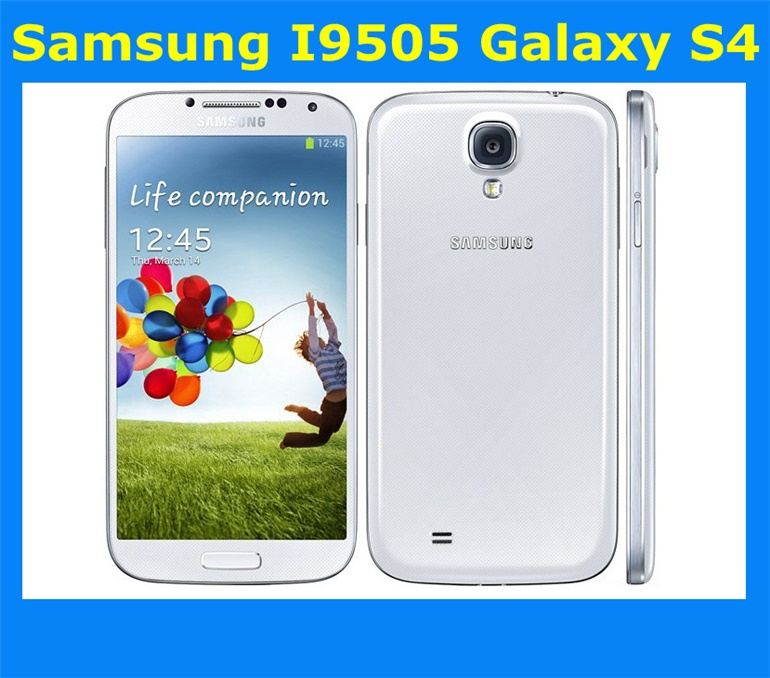 Samsung Galaxy S4 i9505 Original Brand New In The Box Unlocked Android  Mobile Phone Quad-core i9505 5 0