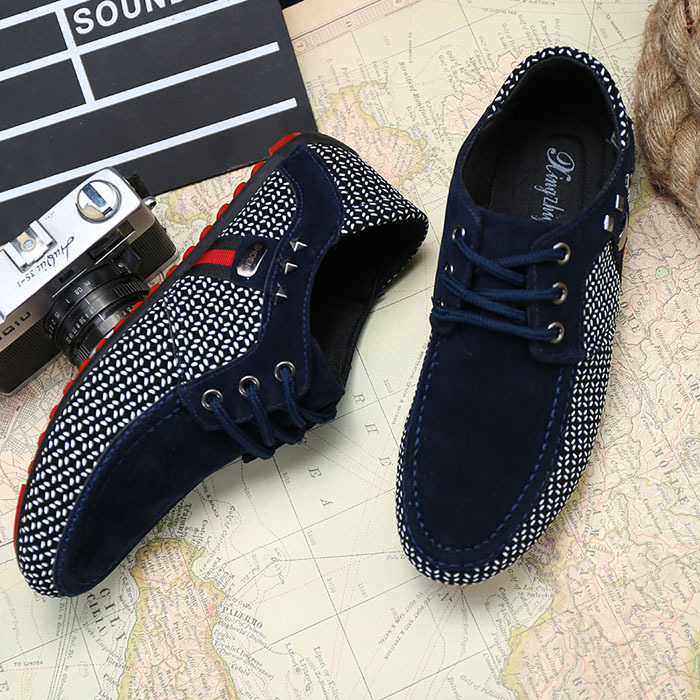 2015 Hot Sell Men Loafer Shoes Men S Fashion Suede Flat Loafers Men Casual Driving Shoes