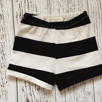3025505511367 Black and White Baby + Toddler Shorts · Little Nugget Republic ® · Online  Store Powered by Storenvy