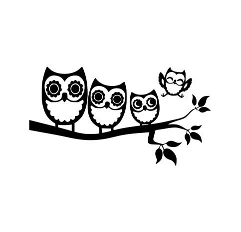 Owl Family Decal 183 Hyland S Home 183 Online Store Powered By