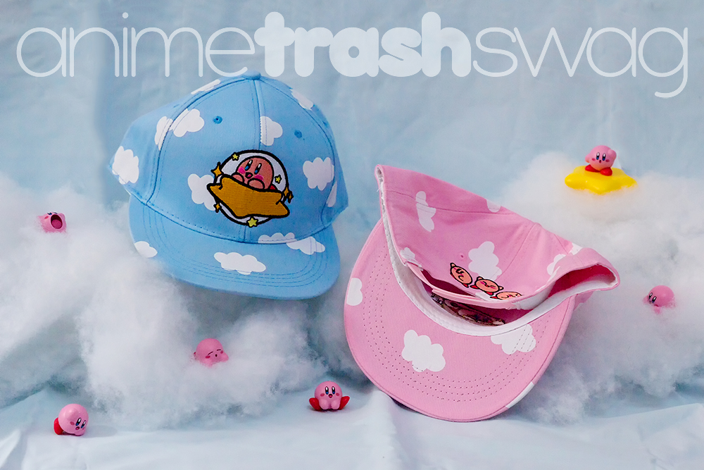 db7245ec38816 KIRBY S DREAM SNAPBACK - PINK BLUE on Storenvy