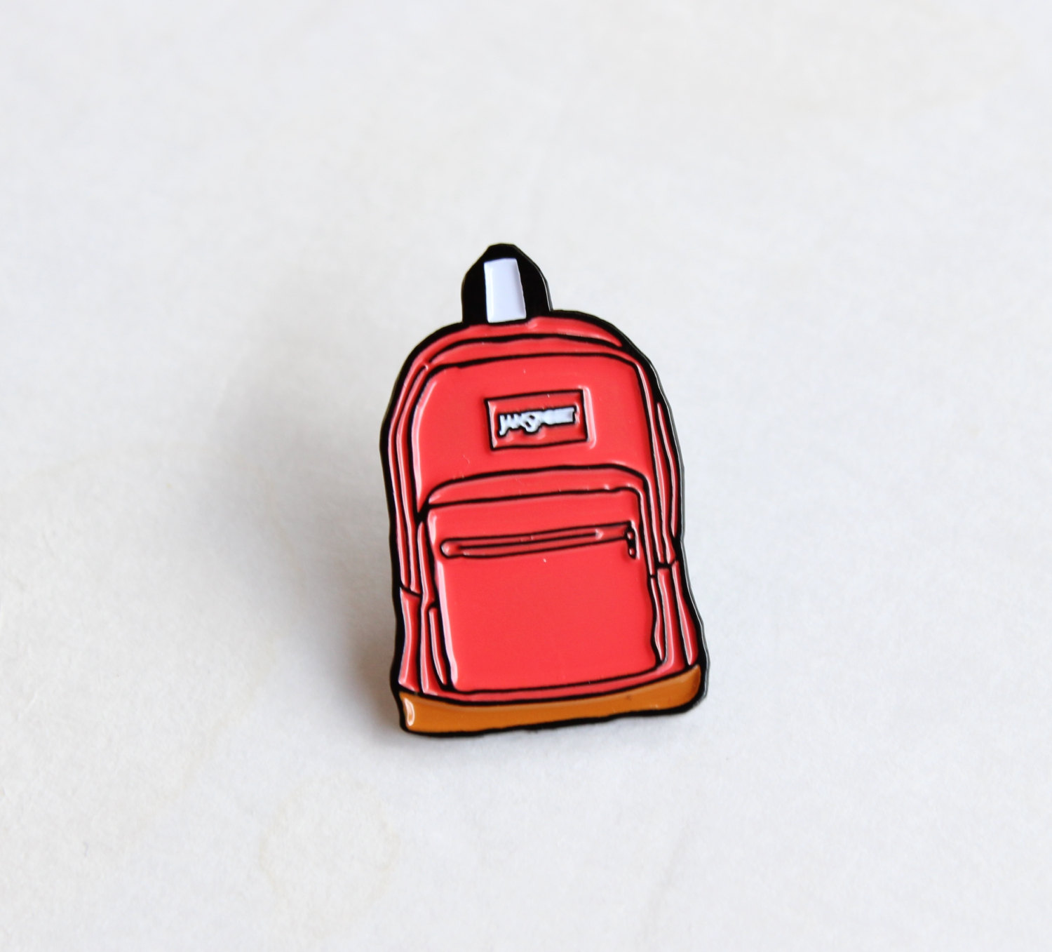 Pink Jansport Backpack Lapel Pin - 1 25