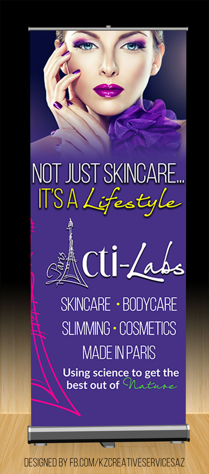Acti Labs Premium Retractable Banner Style 1 Kz Creative Services Online Store Powered By Storenvy