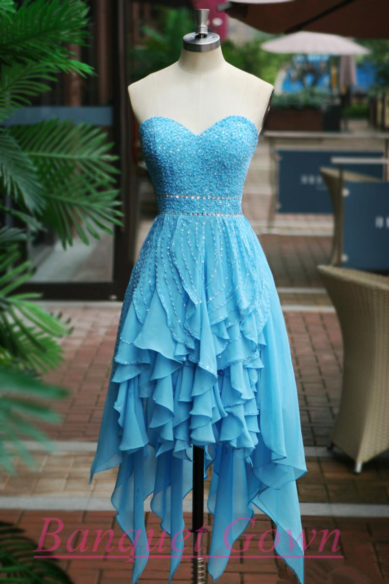 High Low Party Dresses,Cute Prom Gown,Lovely Homecoming Dresses ...