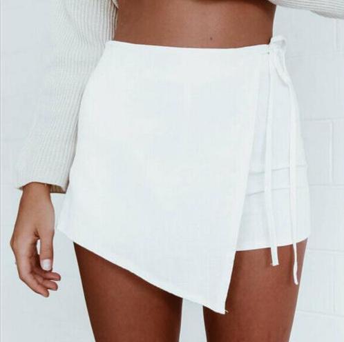 40073fbc43b78 Candice Wrap Mini Skort - White · Fashion Struck · Online Store ...