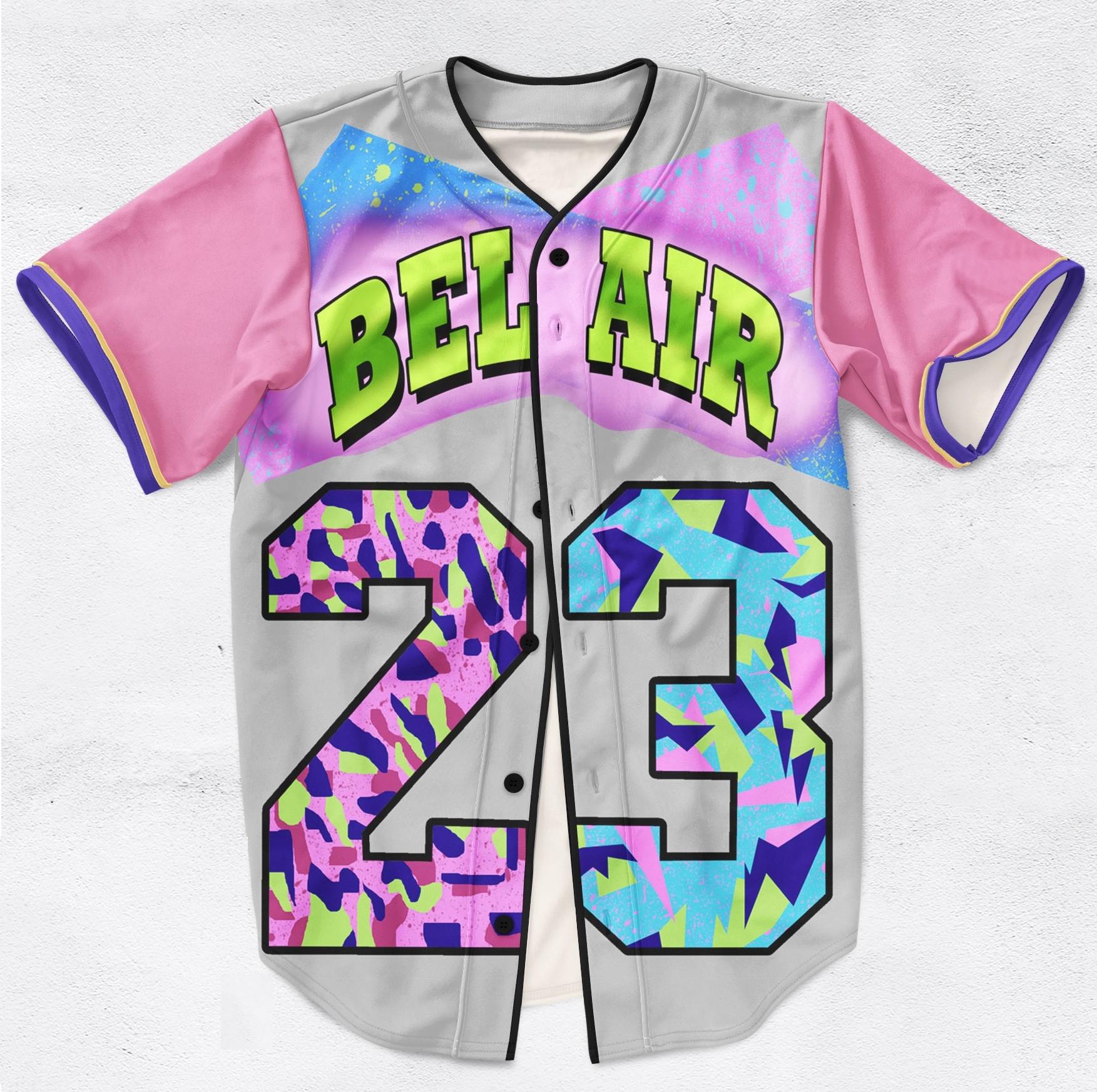 b460952c48d7 Belair 23 Fresh Prince Baseball Jersey on Storenvy