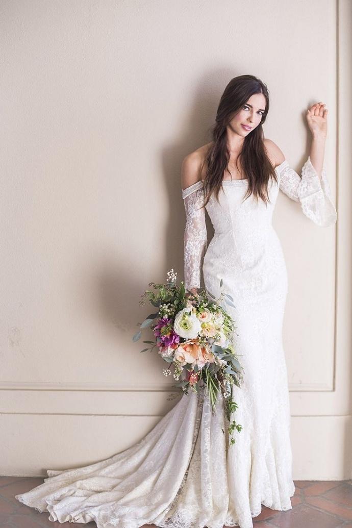 Wedding dresses,off shoulder wedding dress,lace wedding dress ...