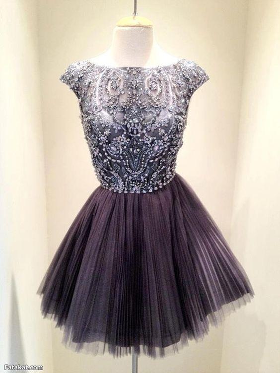 eff31e90c86 Beading A-Line Short Mini Prom Dress