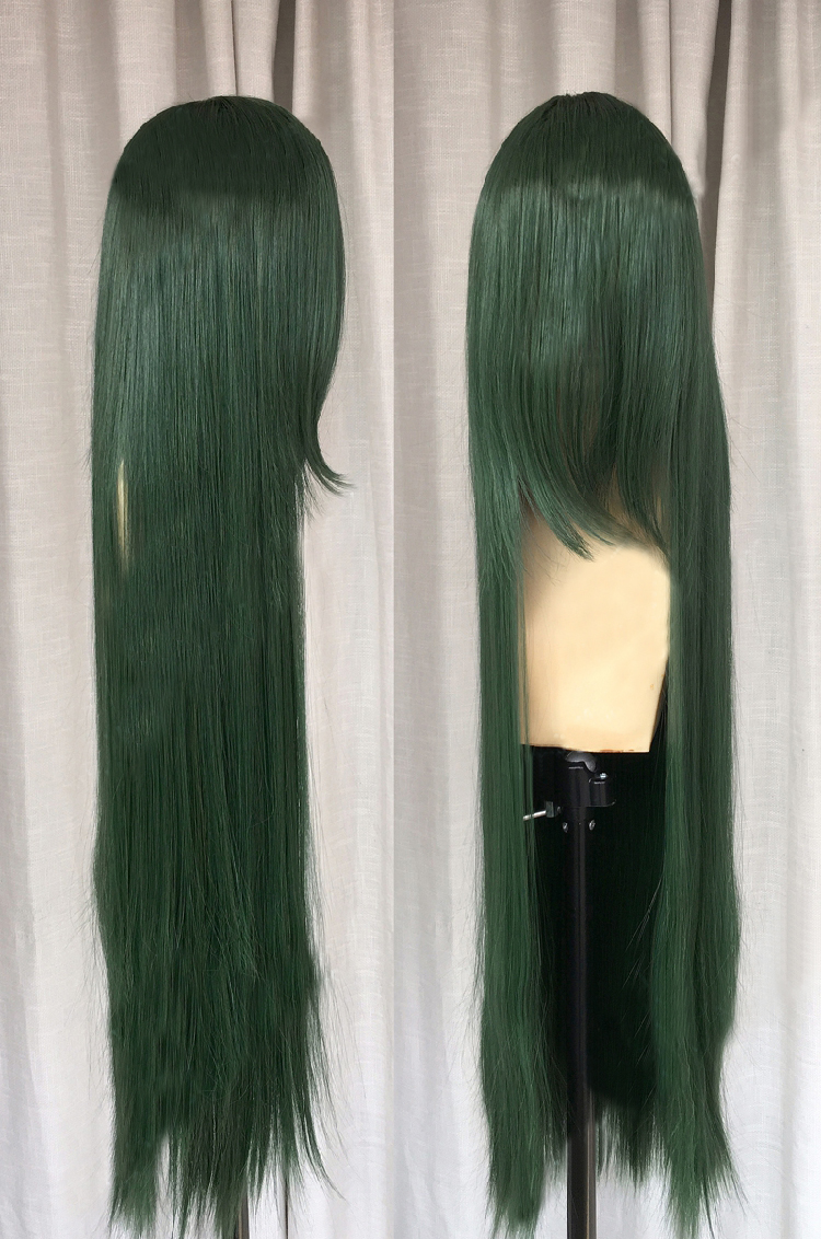 tsuyu asui cosplay wig for sale small