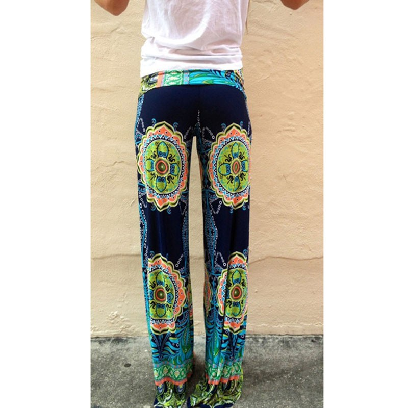 dd7850130235 Lotus Print Boho Summer Pants on Storenvy