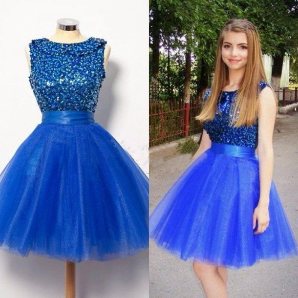 best quality for best cheap new cheap Dresses,Tulle Homecoming Gowns,Fitted Party Dress,Silver Beading Prom  Dresses,Sparkly Cocktail Dress