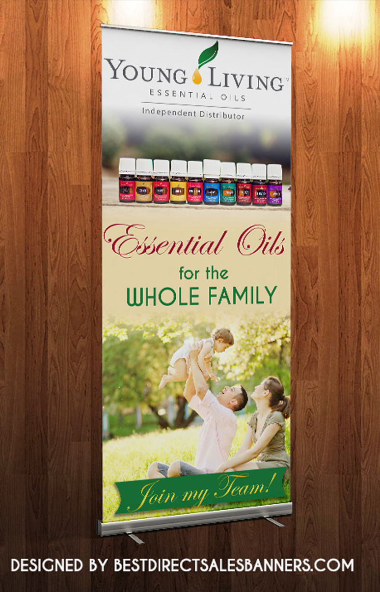 Young Living Retractable Banner 183 Kz Creative Services