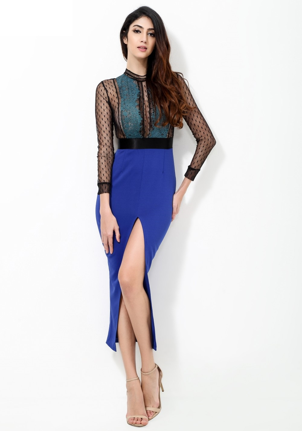 23018e126ba1 Sexy Blue Lace Dress · somethingshelikes · Online Store Powered by ...