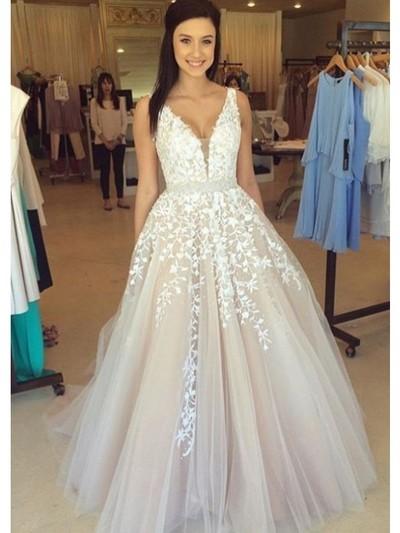 Long Prom Dress,lace prom dress,white prom dress,vintage prom dress ...