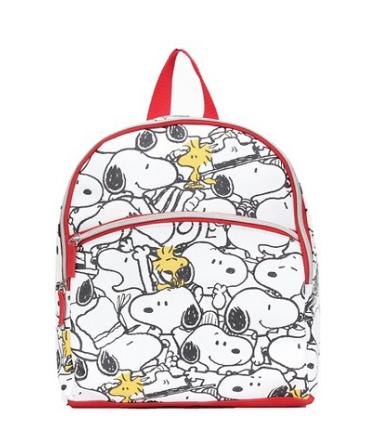 Peanuts Snoopy and Woodstock bookbag