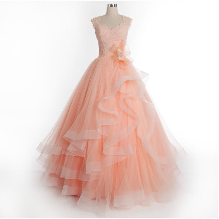 Custom Made Ball Gown Long Prom Dress,Evening Dress,Charming Prom ...