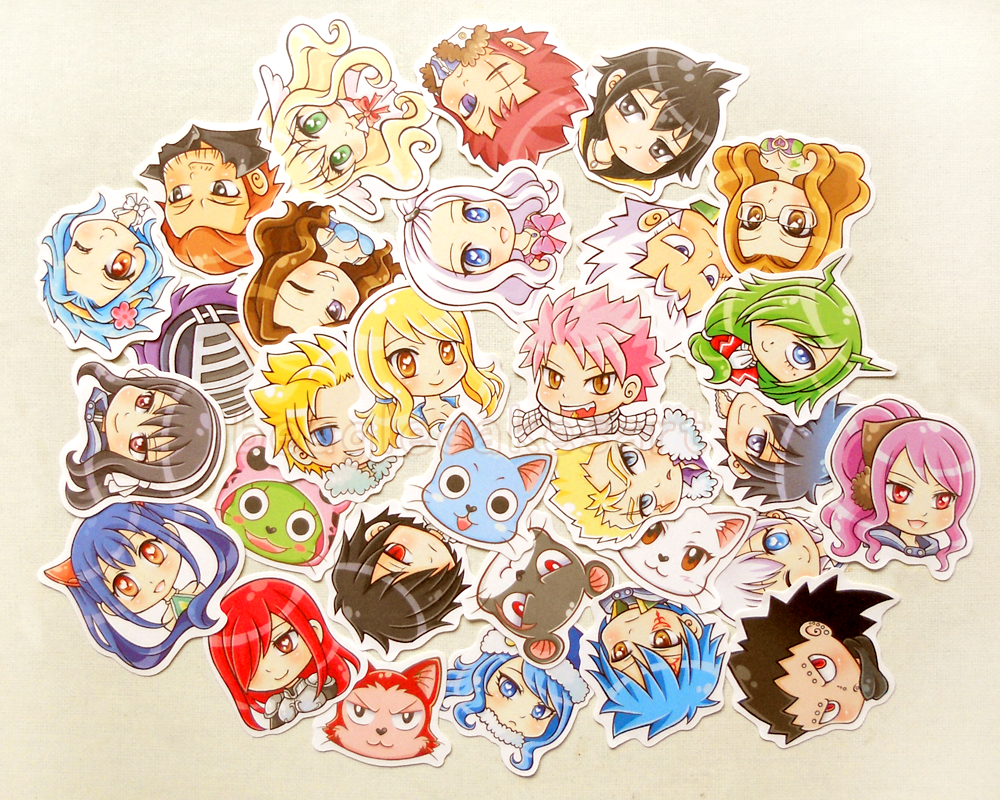 Sticker Anime