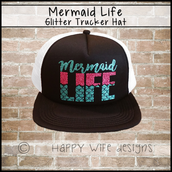 Mermaid Life Trucker Hat 21ae341a760