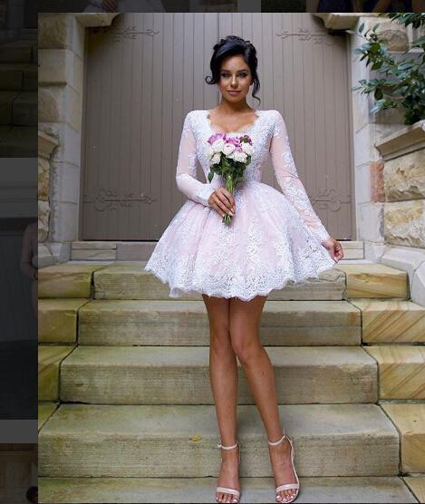 Sexy Wedding Dress White Deep V Neck Wedding Dresses Lace