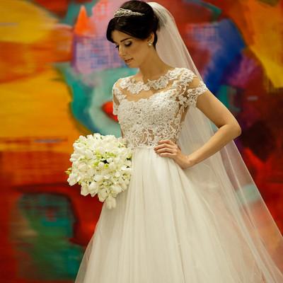 c80a3006ef3 W26 vestido de novias boda short sleeve lace wedding dresses custom made  a-line cheap