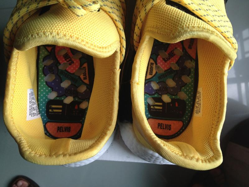 premium selection 196fd 63a91 Authentic UA Adidas NMD Human Race- Yellow/Black sold by FWU Sneaker Supply