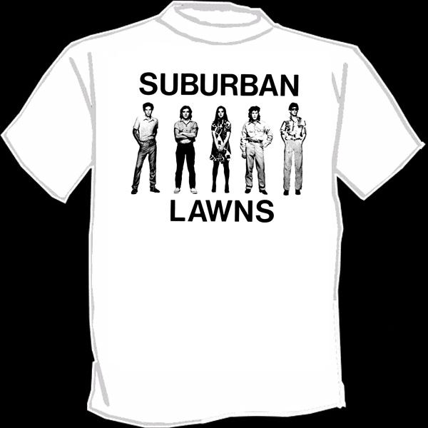 25d1102a5 SUBURBAN LAWNS screenprinted T-shirt SILKSCREENED new wave Punk on Storenvy