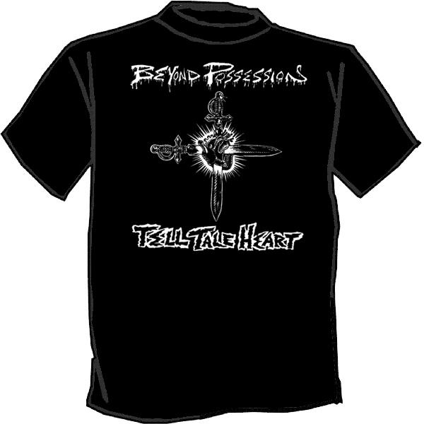Beyond possession silk screened t shirt punk skate rock for Silk screen tee shirts online