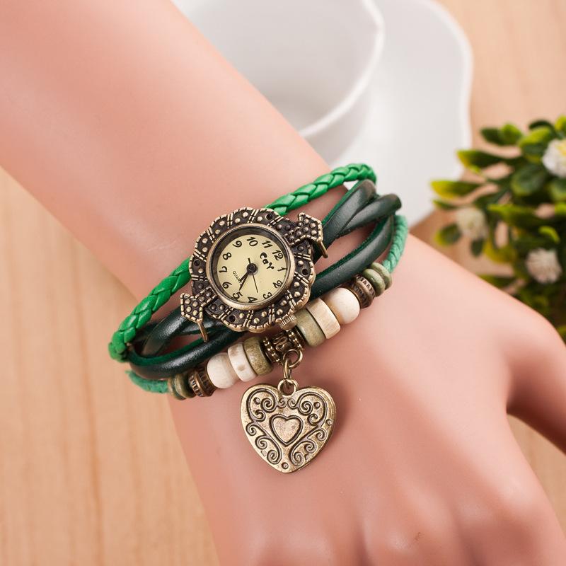 2f107689e7c Retro Love Double Arrow Bracelet Watch on Storenvy