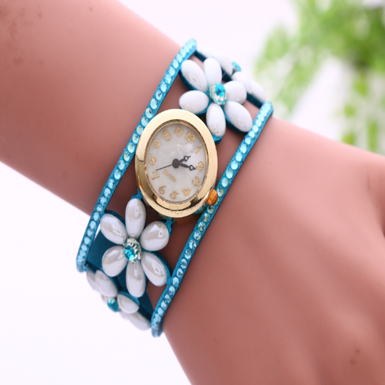 8b7d0fcd3e8 Flower Pearl Bracelet Watch on Storenvy