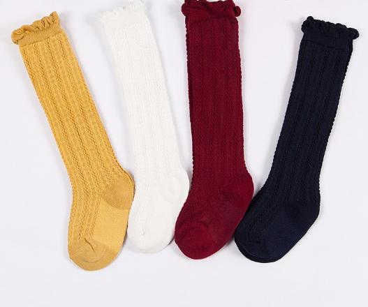 a3ba27015ef Baby Toddler White Knee High Socks · Blush + Willow