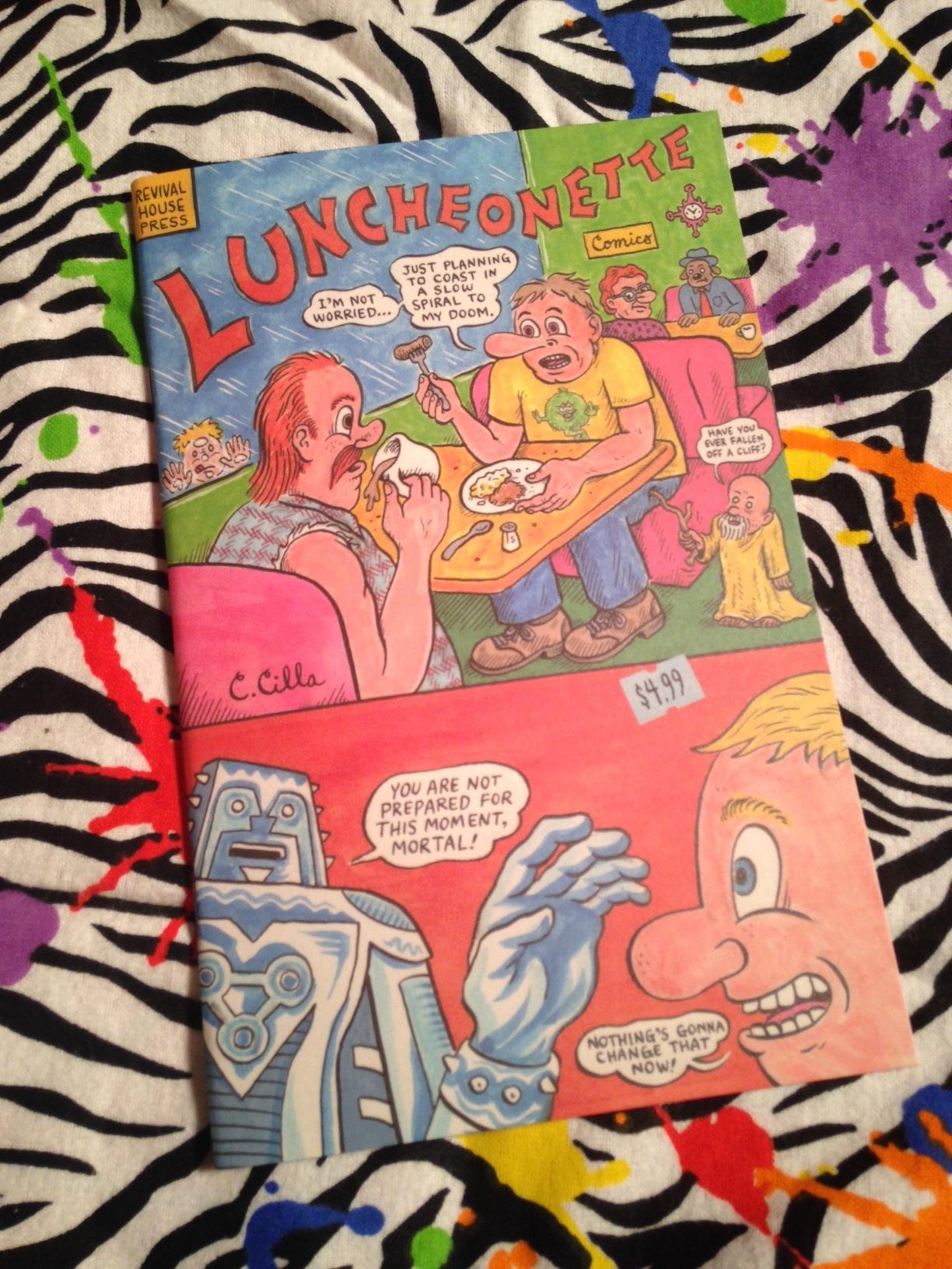 Revival Comic Book