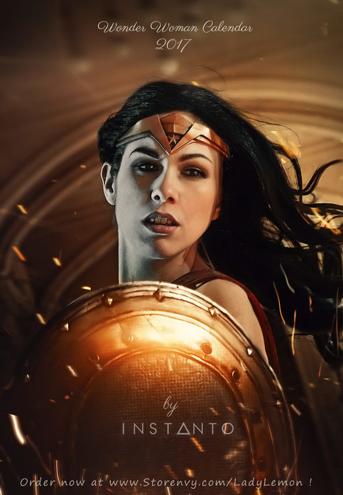 Wonder Woman 2017 Calendar By Instanto On Storenvy