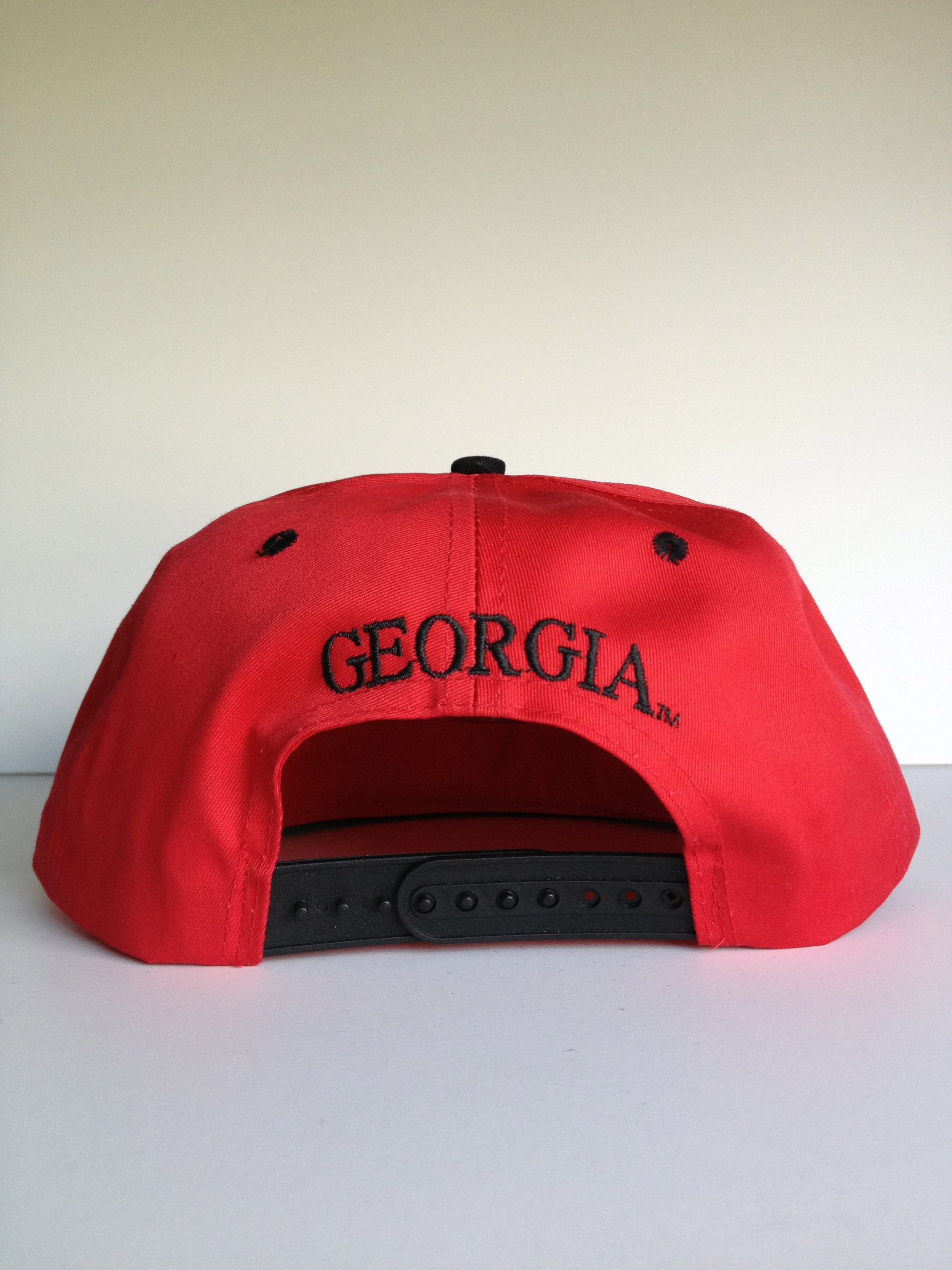 53e53f5bc65 ... Georgia Bulldogs Vintage Snap-back