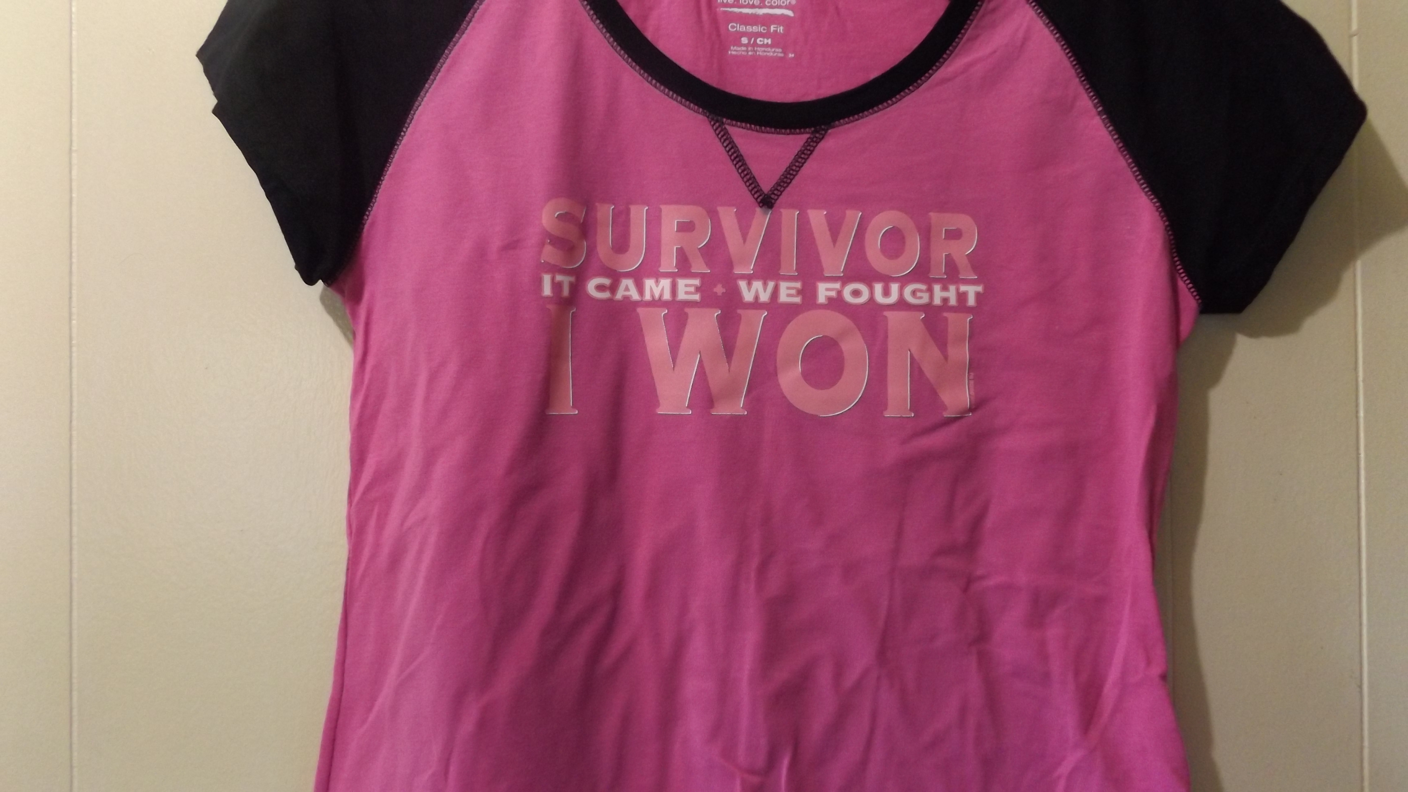 8873d17f Hanes her way custom made survivor cotton t-shirt women tee on Storenvy
