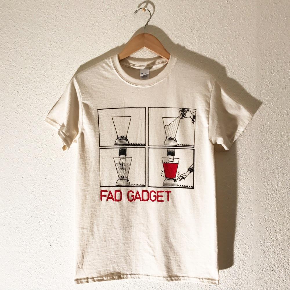 13595926981 Fad Gadget T-shirt 1 LARGE LEFT!