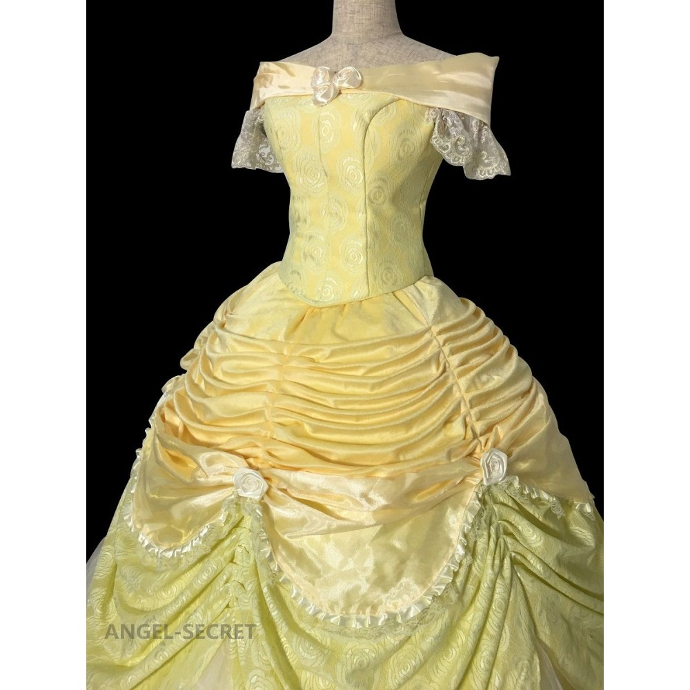 P102 small  sc 1 st  Storenvy & P102 cosplay beauty and beast princess belle Costume tailor made ...