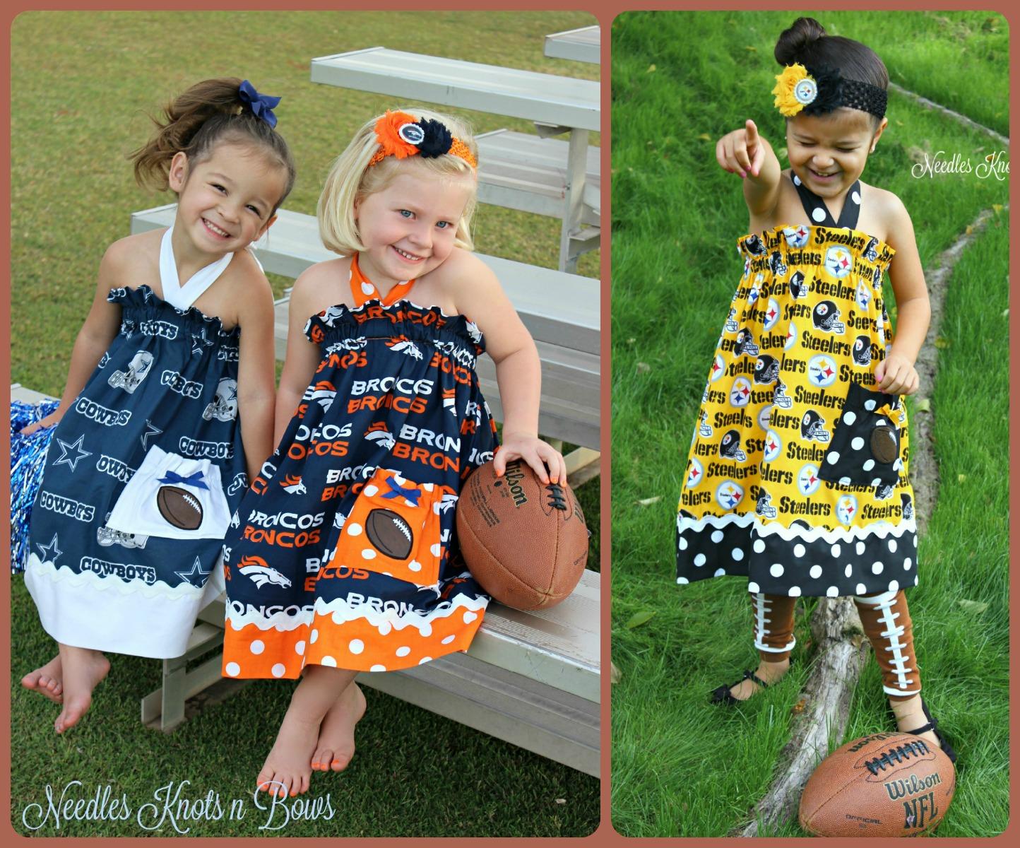 ... Girls Pittsburgh Steelers Gameday Dress f4e760eb3