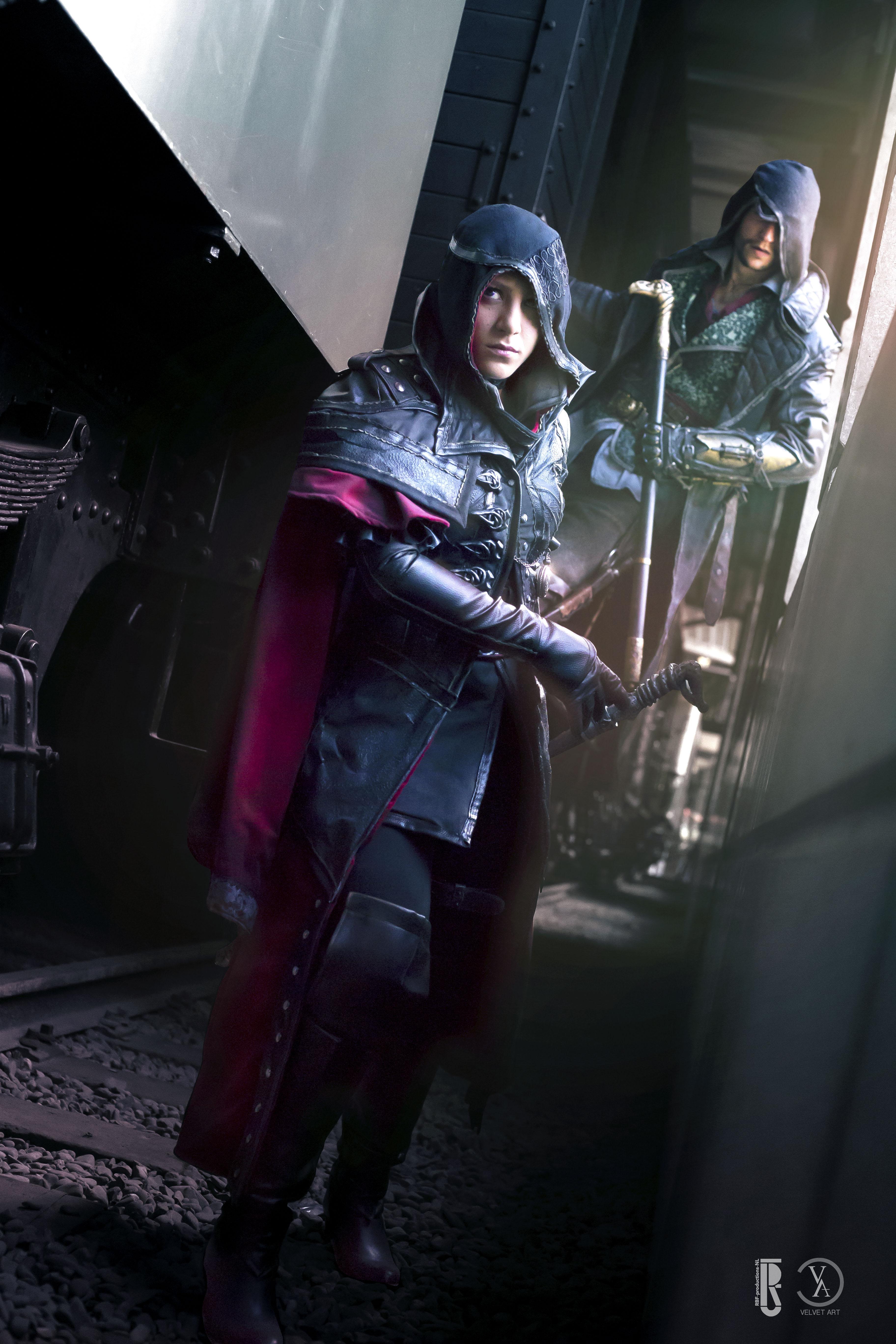 Assassin S Creed Syndicate Jacob Evie 03 Velvet Art Online Store Powered By Storenvy