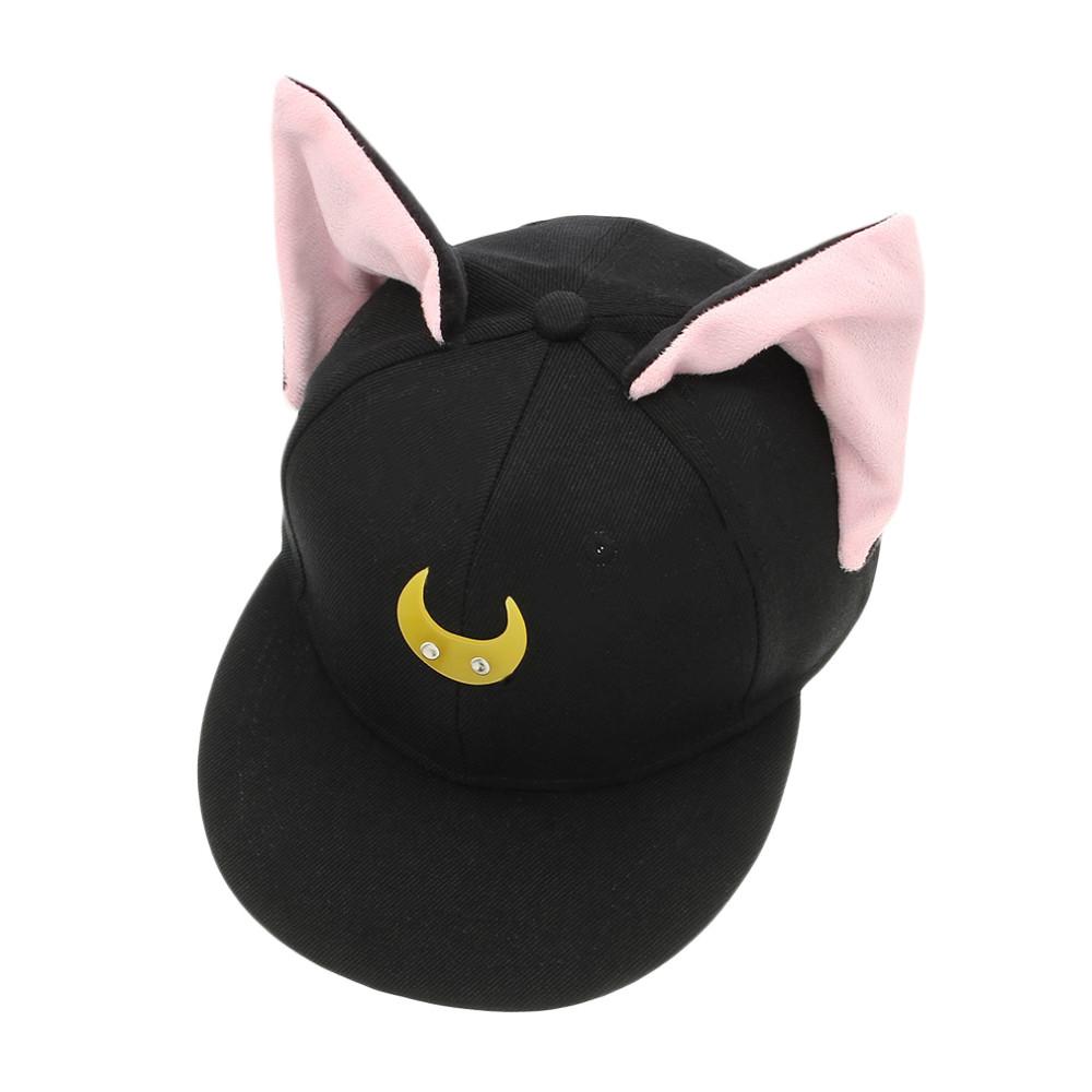 Sailor Moon Cat Ears Baseball Cap Snapback on Storenvy 716d6f0c746