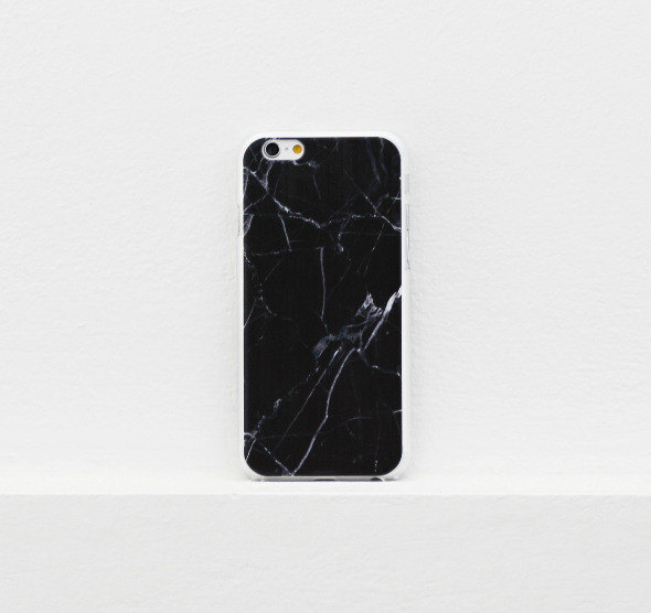 Black marble iPhone case 15dbf24d90