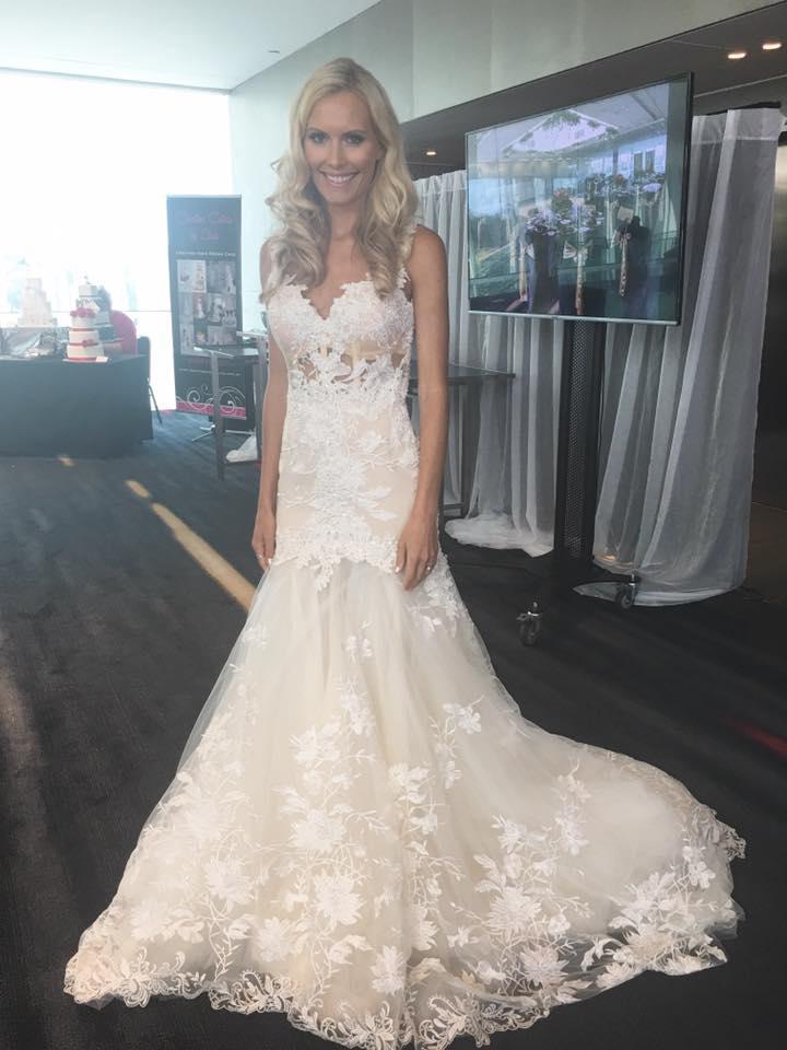 Spaghetti Strap Sheath Lace Wedding Dresses,Open Back Bridal Gowns ...