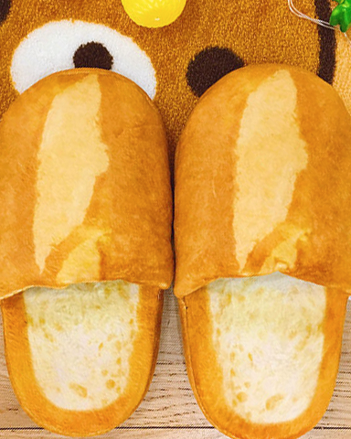 04f0973e28a ... French Bread Slippers - Thumbnail 2