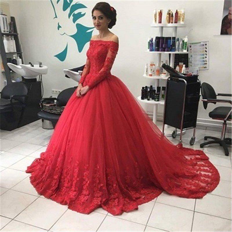 84ab72a797 A-line prom dress,long prom dress,off shoulder prom dress,lace prom ...