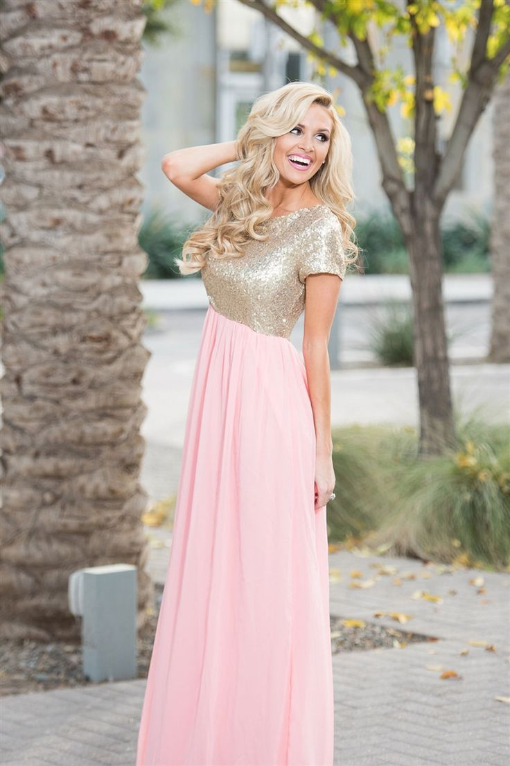 5e665f4e63ea1 2017 Custom Made Pink Chiffon Prom Dress,Sexy Beading Sequins ...