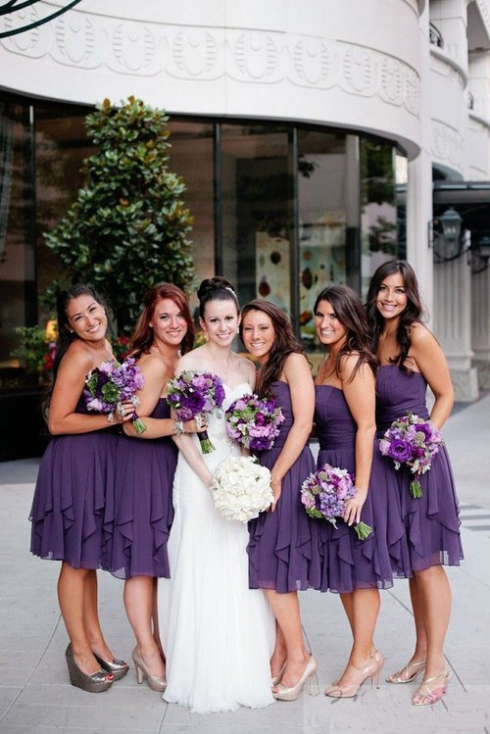 Short Bridesmaid Dress Purple Bridesmaid Dress Strapless Bridesmaid Dress Simple Bridesmaid Dress Hot Bridesmaid Dresspd2101136 On Storenvy,Formal Summer Beach Wedding Guest Dresses