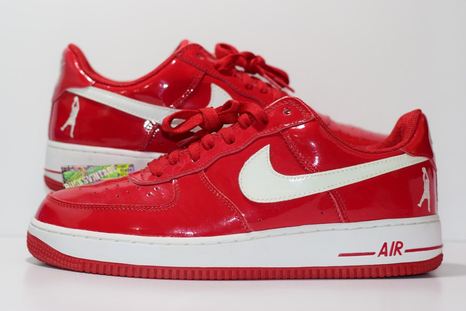 best sneakers 60133 c0864 Size 11  2004 Nike Air Force 1 SHEED Supreme Red Patent Leather Rasheed  Wallace on Storenvy