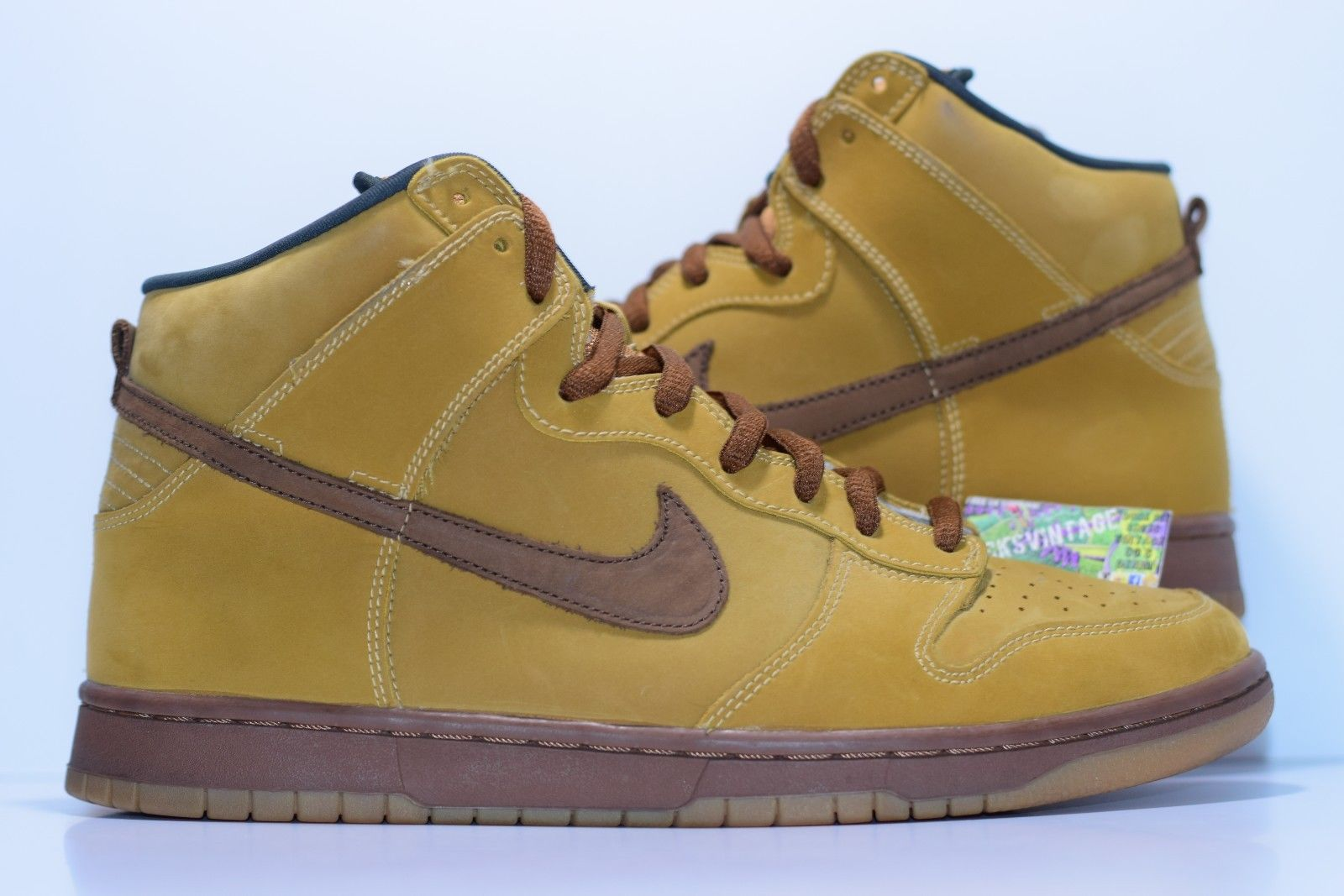 bde99989 Size 11.5 | 2002 Nike Dunk SB WHEAT High 305050-221 · BucksVintage ...
