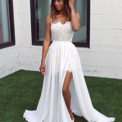 5e6a6948b034 Prom Dresses 2017 Elegant White Party With Appliques Cheap Simple Glamours  Dresses86 Morden Sky Online Store