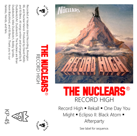 The Nuclears Record High Cassette On Storenvy